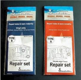 Isabella Tear Aid Caravan Awning Repair Patch Kit Type A Or B
